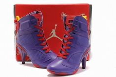 Nike Air Jordan VI 6 Heels Purple/Red