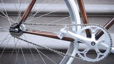 Woodgrain Bikes by Rob Pollock #wood #bicycle