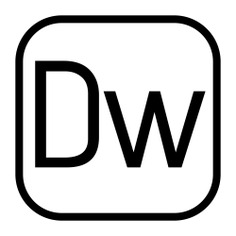 See more icon inspiration related to DW, dreamweaver, program, logo, adobe, software, mac-os, OSX, editor and interface on Flaticon.
