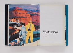 Explorers of Tomorrow on the Behance Network #mead #futurism #jon #design #graphic #book #wong #illustration #syd