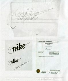 http://www.graphicart-news.com/2011/08/nike-logo-40-years-ago.html #patent #logo #nike #technical