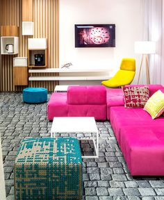 Ibis Styles Hotel by EC-5 Architects - #decor, #interior, #hotel