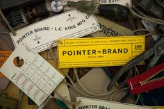 DanBlackman_PointerBrand_12 #tags #hangtag #vintage #label