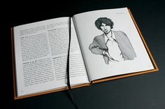 Odear - United Stage Artist #cut #bodoni #tree #design #insert #book #spread #illustration #music