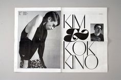 SvB #layout #magazine #typography