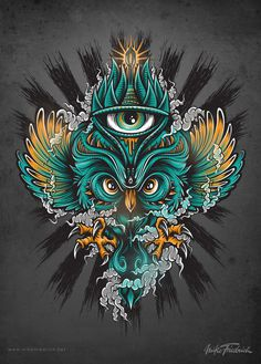 Owl Poster #colors