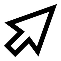 See more icon inspiration related to cursor, mouse, point, computer mouse, pointer, arrow, interface, multimedia and arrows on Flaticon.