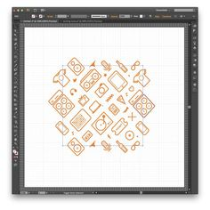 10 #icon #illustrator #pattern