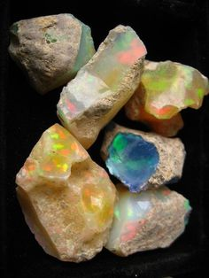 Pinned Image #rainbow #stones