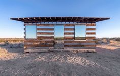0-Lucid Stead Transparent Cabin by Phillip K Smith III #cabin