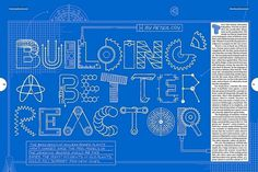 What Would Jennifer Do » Blog Archive #reactor #a #jennifer #illustration #daniel #building #type #blue #better