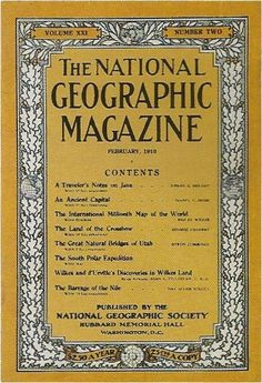 1910.jpg (400×586) #1900 #geographic #cover #1910 #national #magazine