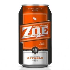 The One They Call Zoe | Oh Beautiful Beer #packaging #beer #can #label