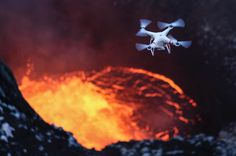 Photographer Ulla Lohmann Lowers Herself Into Active Volcanoes