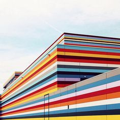 After the rain - Sebastian Weiss Architecture Photography - @le_blanc at Instagram #lines #colors #photography #architecture #hotel #airport #berlin #meininger