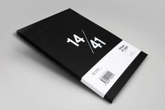 14/41 – The Book | S/O/T/O #creative #white #book #black #logo #mash #1441
