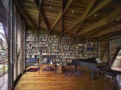 小柔♥的相册-我家必须有书架 #shelf #architecture #books