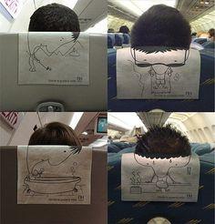 FFFFOUND! | NH.jpg (image) #rest #seat #airplane