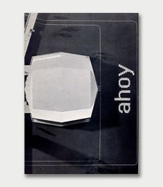 Design by Benno Wissing & Hartmut Kowalke - Total Design (1969) #white #design #graphic #black #cover #and #dutch