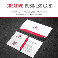 Mockup of modern red and white business card Premium Psd. See more inspiration related to Business card, Mockup, Business, Abstract, Card, Template, Office, Visiting card, Red, Presentation, White, Stationery, Elegant, Corporate, Mock up, Creative, Company, Modern, Corporate identity, Branding, Visit card, Identity, Brand, Identity card, Professional, Presentation template, Up, Brand identity, Visit, Showcase, Showroom, Mock and Visiting on Freepik.