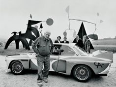 tumblr_lwwzkdayNn1r8oshko4_500.jpg (500×375) #bmw #auto #1975 #art #calder #car