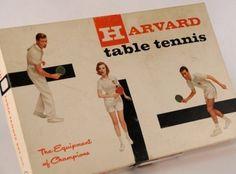 Vintage table tennis set #pong