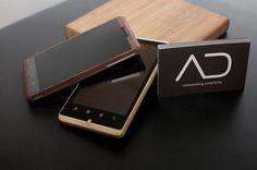 Bamboo Android Phone by ADzero #industrial #design