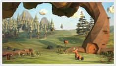 jeremyKool_scene.png (640×371) #fox #project #the #kool #jeremy #paper