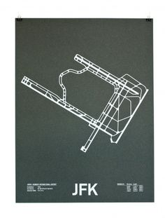 Airport Runway Screenprints