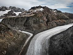 Edward Burtynsky WATER Web Gallery #canada #burtynsky #glacier #photography #mountains