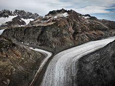 Edward Burtynsky WATER Web Gallery #canada #burtynsky #glacier #photography #mountains
