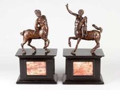 Francesco Righetti (1738- 1819), Pair of Furietti Centaurs