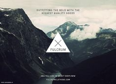 FULCRUM BRANDING on the Behance Network #branding #photography #minimal #fulcrum #logo