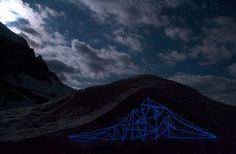 spidertag | night | switzerland | europe #line #landscape