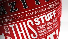 Azita's Almost All American Hot Sauce on Behance #packaging
