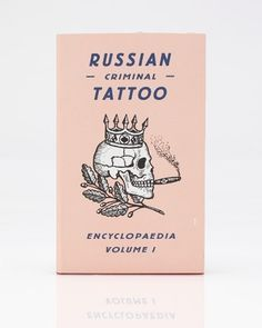 Need Supply Co. / Russian Criminal Tattoos #book #cover #logo #drawing #typography