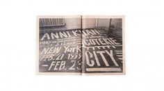 Work | Sagmeister Inc. #anni #typography #photography #handmade #kuan #sagmeister