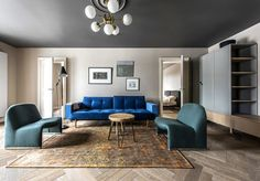 Apartment that Nails the Modern Classic Look - InteriorZine