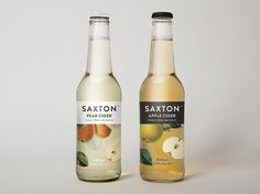 Saxton Cider | Packaging of the World: Creative Package Design Archive and Gallery #saxton cider