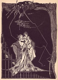 Harry Clarke's Faust - 50 Watts #harry #illustration #clarke #faust