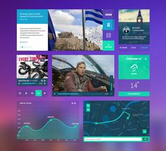 Dasboard UI Kit PSD Template