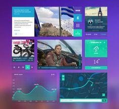 Dasboard UI Kit PSD Template