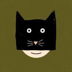 Cat #illustration #drawing #halloween #vector #cat #monster #doodle