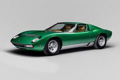 Lamborghini Restores the One-of-a-Kind Miura SV