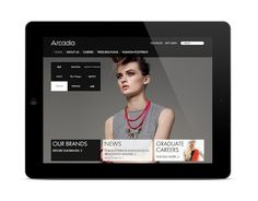 Arcadia – Experience #ipad #ui