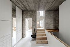 An Old Building Renovation by asdfg Architekten