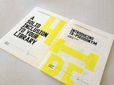 Tim Ruxton Self Promo Type Specimen Poster