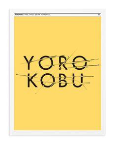 Yorokobu (2) #sergi #ferrando #typography