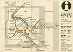 Evan Wakelin's drawings and stuff #bahn #germany #map #s #ubahn #berlin #east