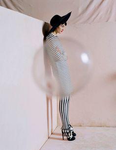 Kirsi Pyrhonen in Vogue UK April 2011 by Tim Walker